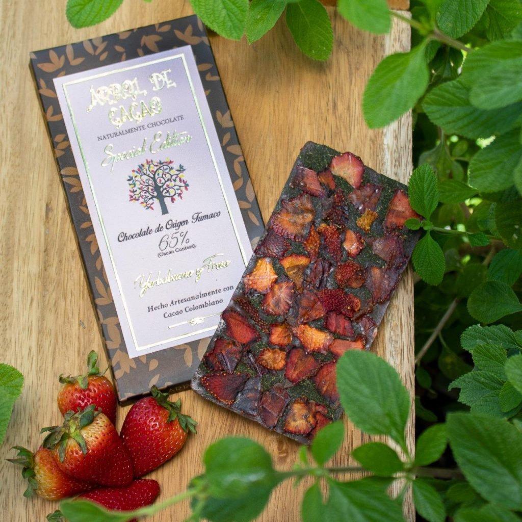 chocolate premium árbol de cacao